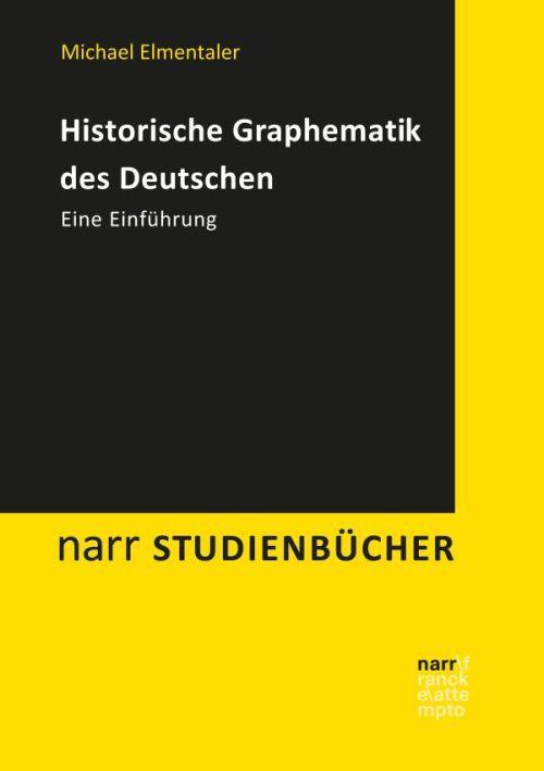 Cover-Bild Historische Graphematik des Deutschen