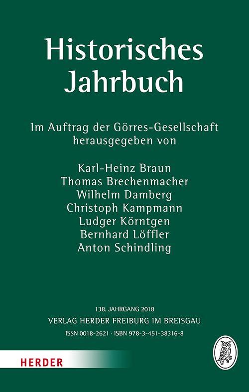 Cover-Bild Historisches Jahrbuch
