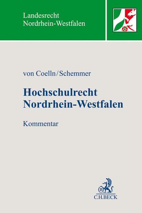 Cover-Bild Hochschulrecht Nordrhein-Westfalen