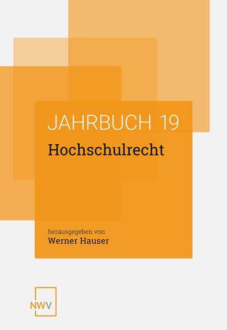 Cover-Bild Hochschulrecht
