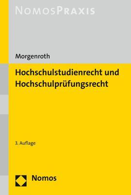 Cover-Bild Hochschulstudienrecht und Hochschulprüfungsrecht