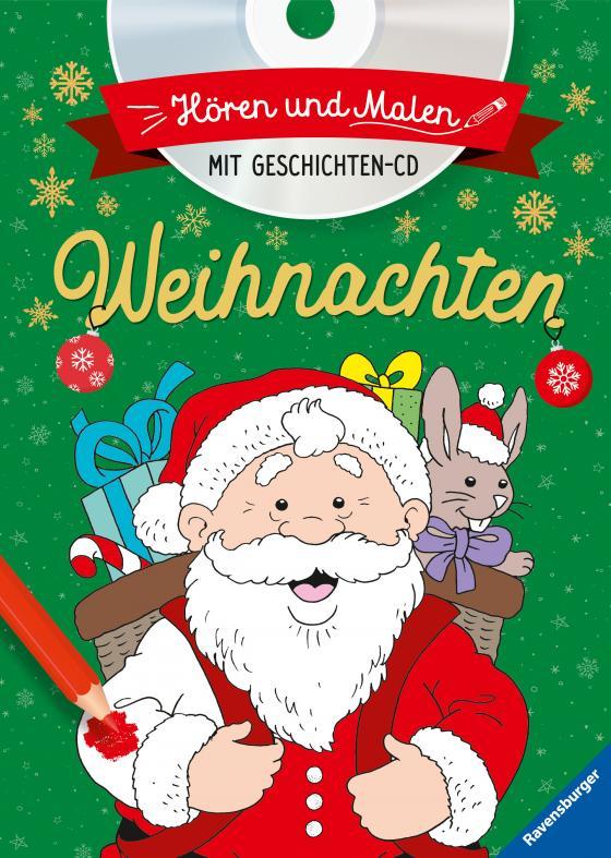 Cover-Bild Hören und Malen: Weihnachten (mit CD)