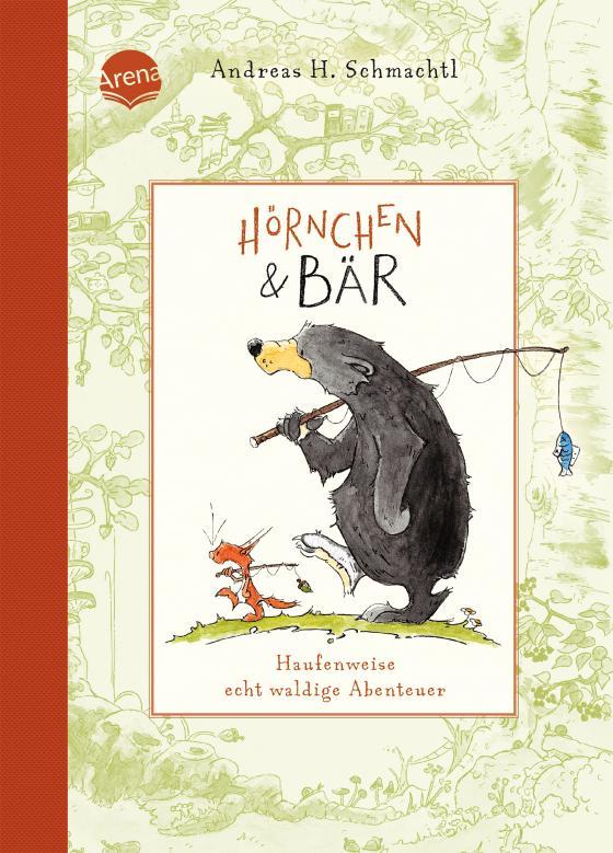 Cover-Bild Hörnchen & Bär. Haufenweise echt waldige Abenteuer