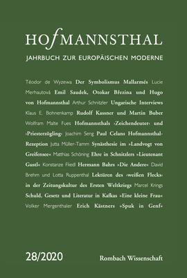Cover-Bild Hofmannsthal – Jahrbuch zur Europäischen Moderne
