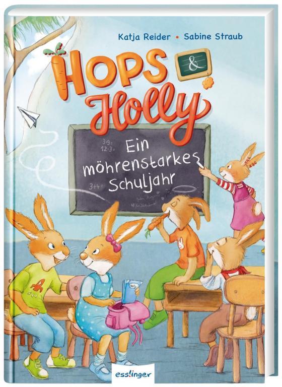 Cover-Bild Hops & Holly 2: Ein möhrenstarkes Schuljahr