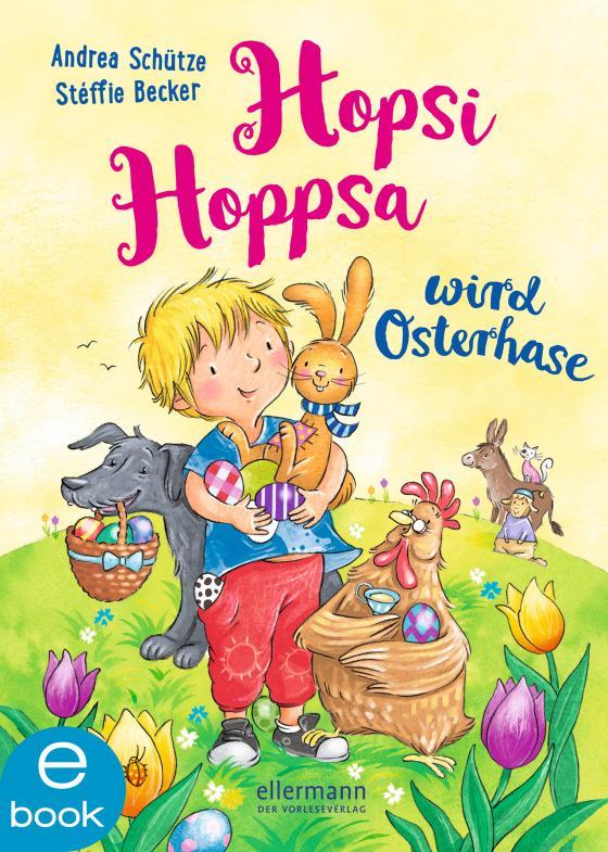 Cover-Bild Hopsi Hoppsa wird Osterhase