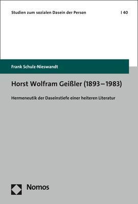 Cover-Bild Horst Wolfram Geißler (1893–1983)