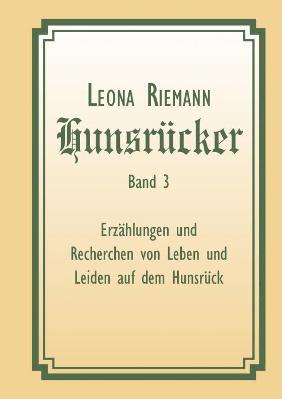 Cover-Bild Hunsrücker Band 3