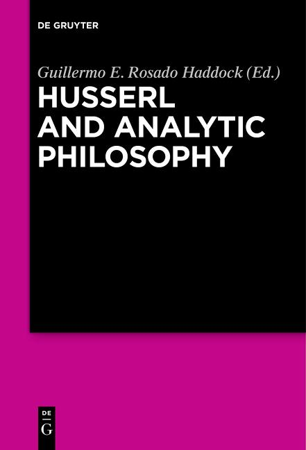 Cover-Bild Husserl and Analytic Philosophy