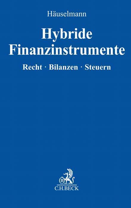 Cover-Bild Hybride Finanzinstrumente