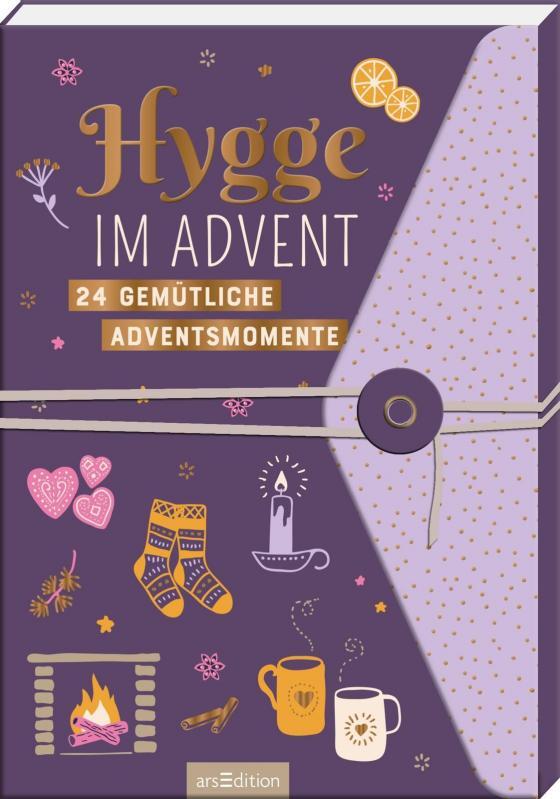 Cover-Bild Hygge im Advent - 24 gemütliche Adventsmomente