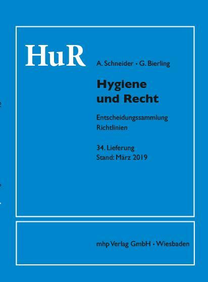 Cover-Bild Hygiene und Recht