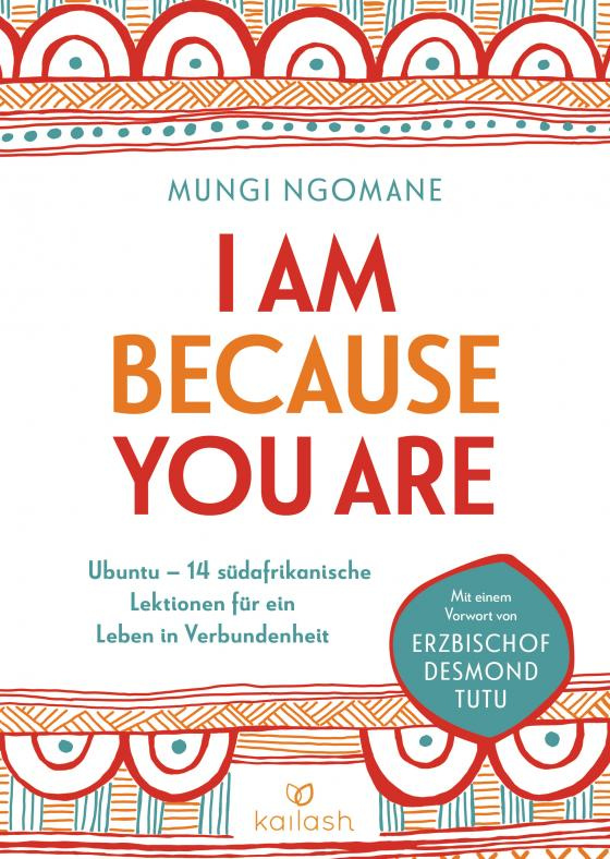 Cover-Bild I am because you are