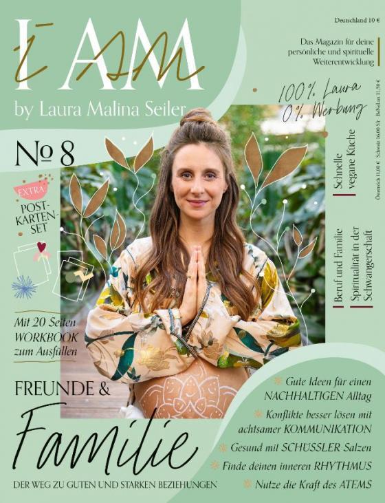 Cover-Bild I AM by Laura Malina Seiler 8/21