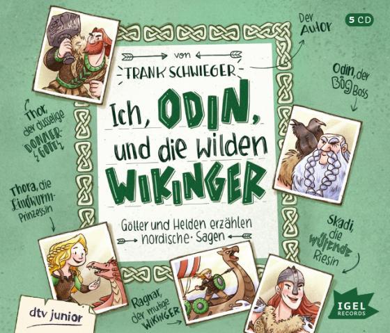 Cover-Bild Ich, Odin, und die wilden Wikinger
