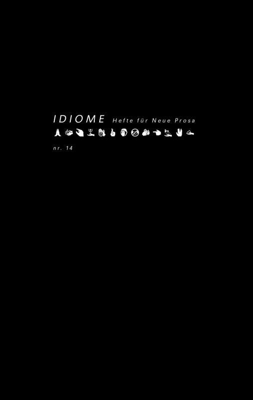 Cover-Bild Idiome Nr. 14