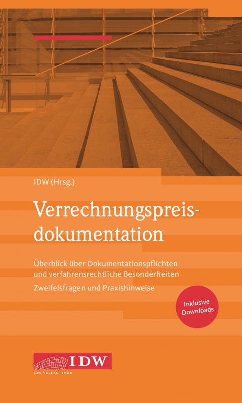 Cover-Bild IDW, Verrechnungspreisdokumentation