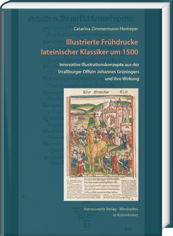 Cover-Bild Illustrierte Frühdrucke lateinischer Klassiker um 1500