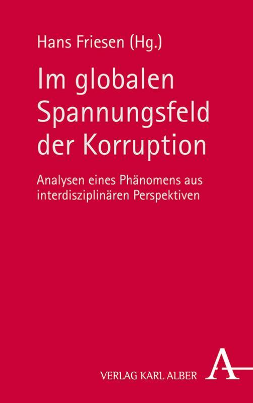 Cover-Bild Im globalen Spannungsfeld der Korruption