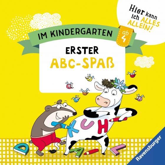 Cover-Bild Im Kindergarten: Allererster Abc-Spaß