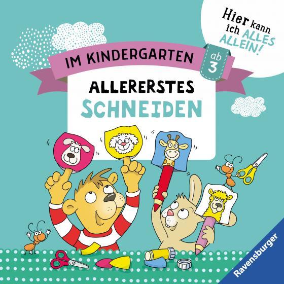 Cover-Bild Im Kindergarten: Allererstes Schneiden