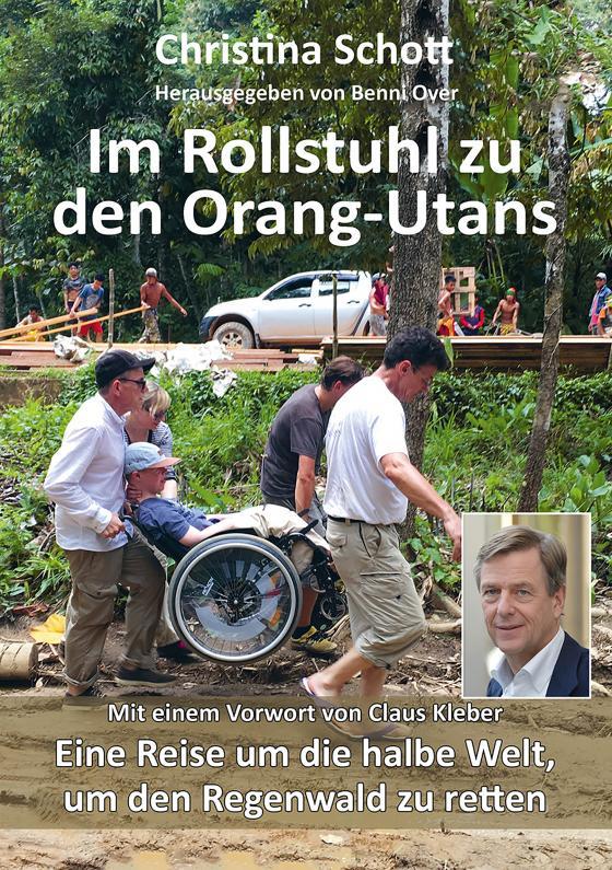 Cover-Bild Im Rollstuhl zu den Orang-Utans