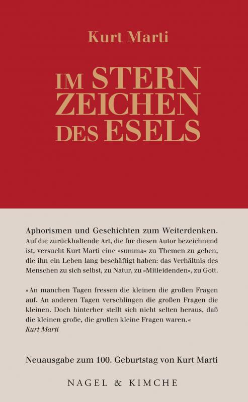 Cover-Bild Im Sternzeichen des Esels