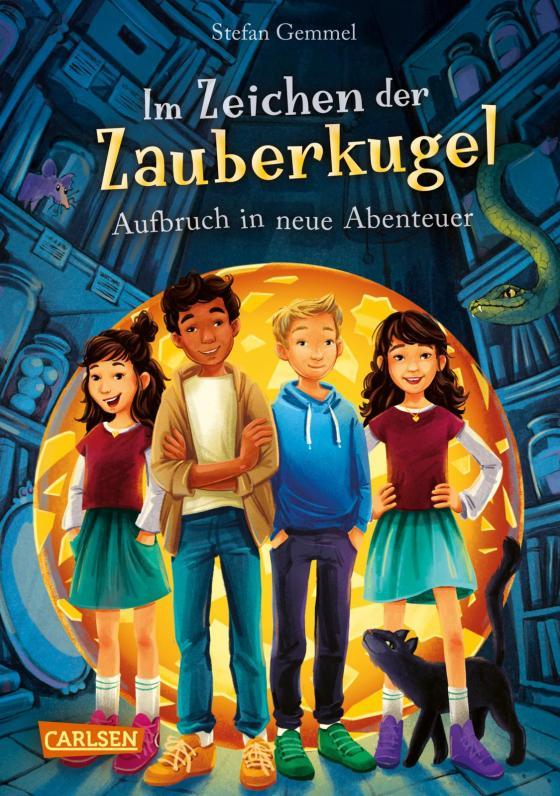 Cover-Bild Im Zeichen der Zauberkugel 7: Aufbruch in neue Abenteuer
