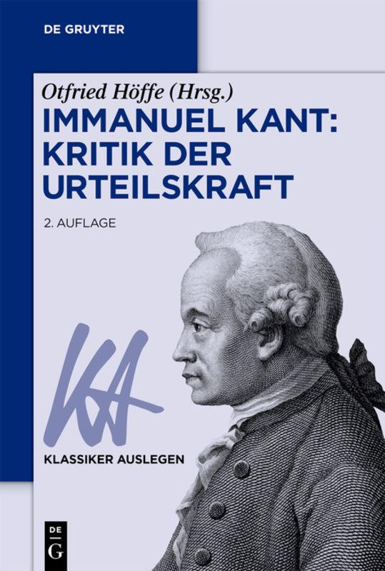 Cover-Bild Immanuel Kant: Kritik der Urteilskraft