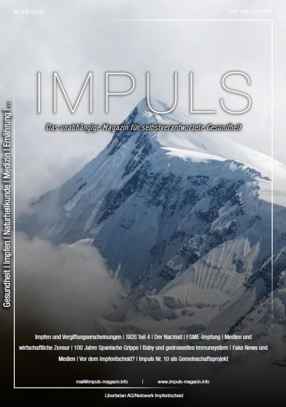 Cover-Bild IMPULS Nr. 9 Q1/18
