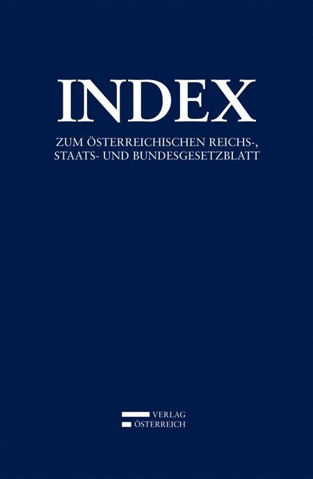 Cover-Bild Index