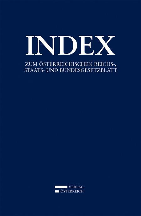 Cover-Bild Index
