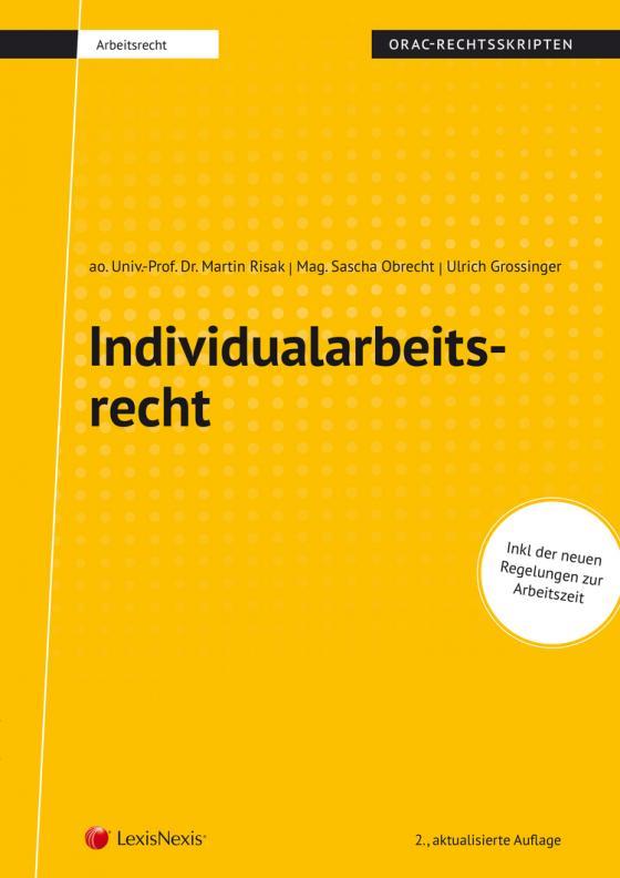 Cover-Bild Individualarbeitsrecht (Skriptum)