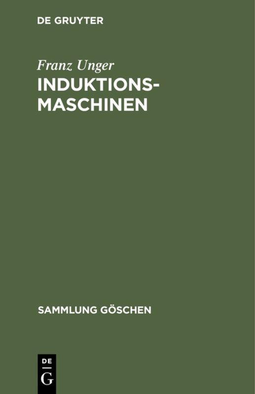 Cover-Bild Induktionsmaschinen