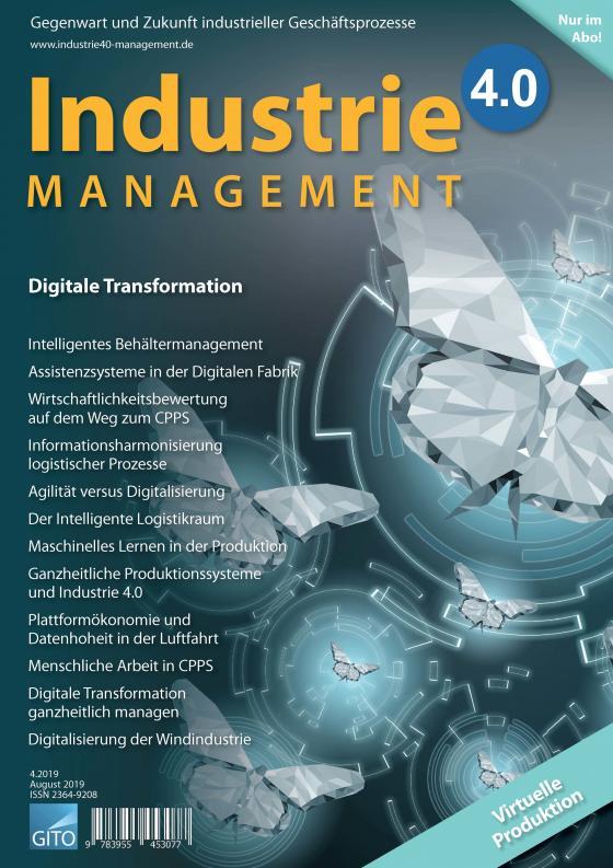 Cover-Bild Industrie 4.0 Management 4/2019