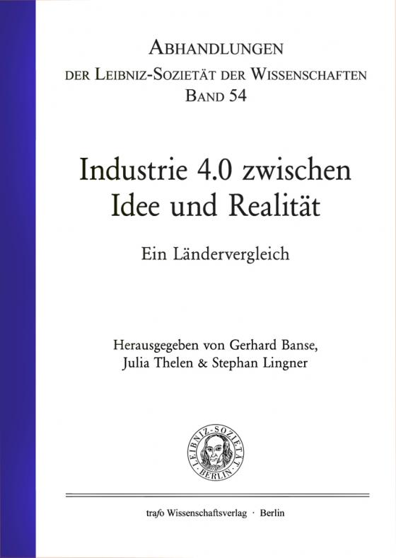 Cover-Bild Industrie 4.0 zwischen Idee und Realität
