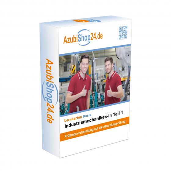 Cover-Bild Industriemechaniker Teil 1 Prüfungsvorbereitung E-Book