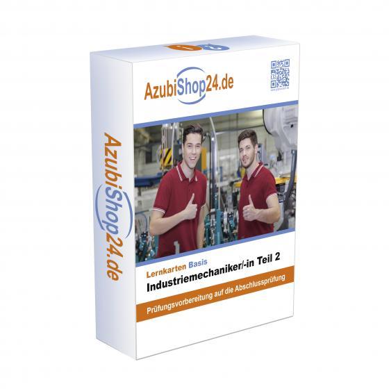 Cover-Bild Industriemechaniker Teil 2 Prüfungsvorbereitung E-Book