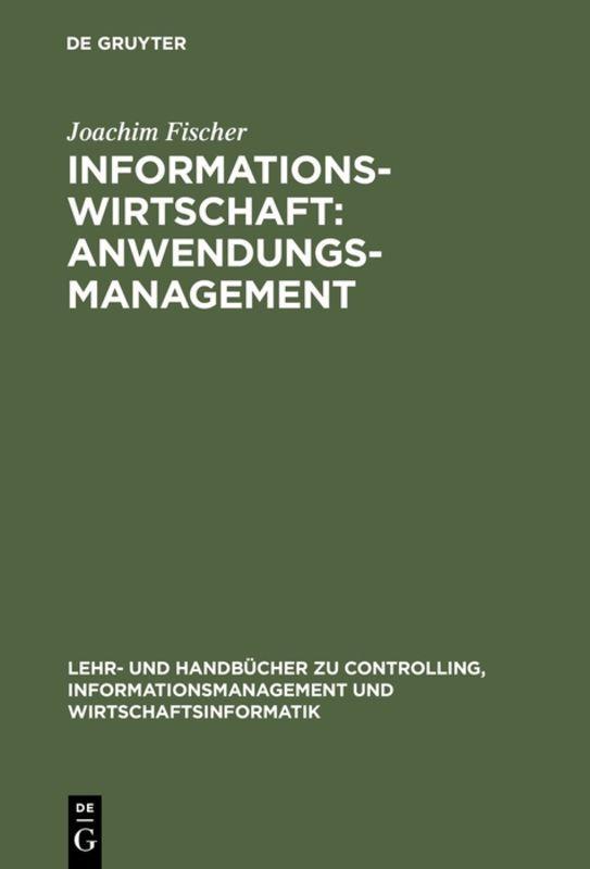 Cover-Bild Informationswirtschaft: Anwendungsmanagement