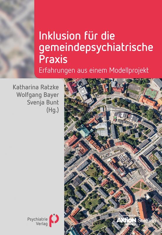 Cover-Bild Inklusion für die gemeindepsychiatrische Praxis