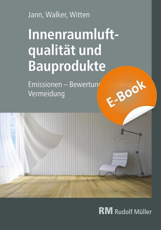 Cover-Bild Innenraumluftqualität und Bauprodukte - E-Book (PDF)