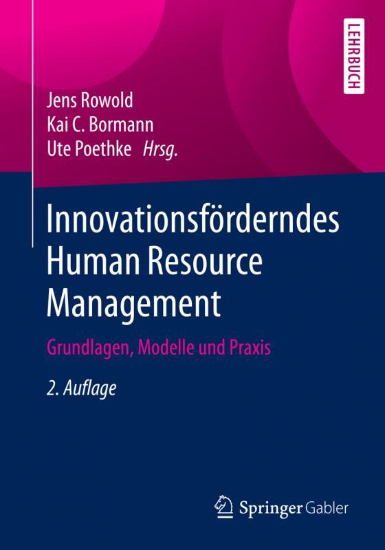 Cover-Bild Innovationsförderndes Human Resource Management