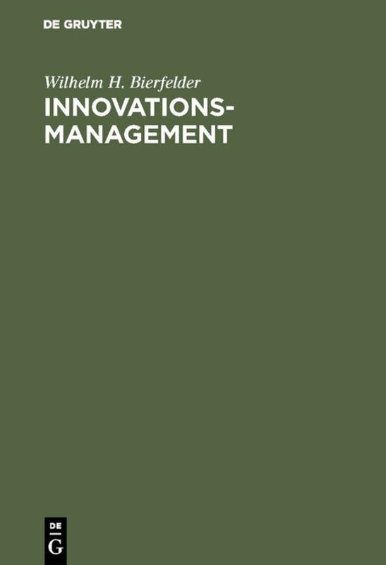 Cover-Bild Innovationsmanagement