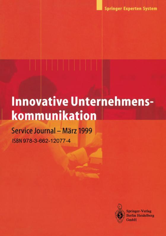 Cover-Bild Innovative Unternehmenskommunikation