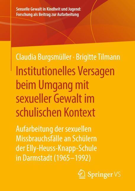 Cover-Bild Institutionelles Versagen beim Umgang mit sexueller Gewalt im schulischen Kontext