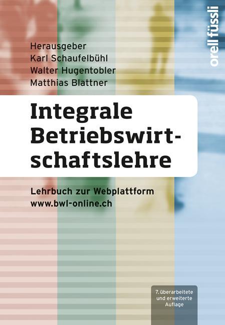 Cover-Bild Integrale Betriebswirtschaftslehre