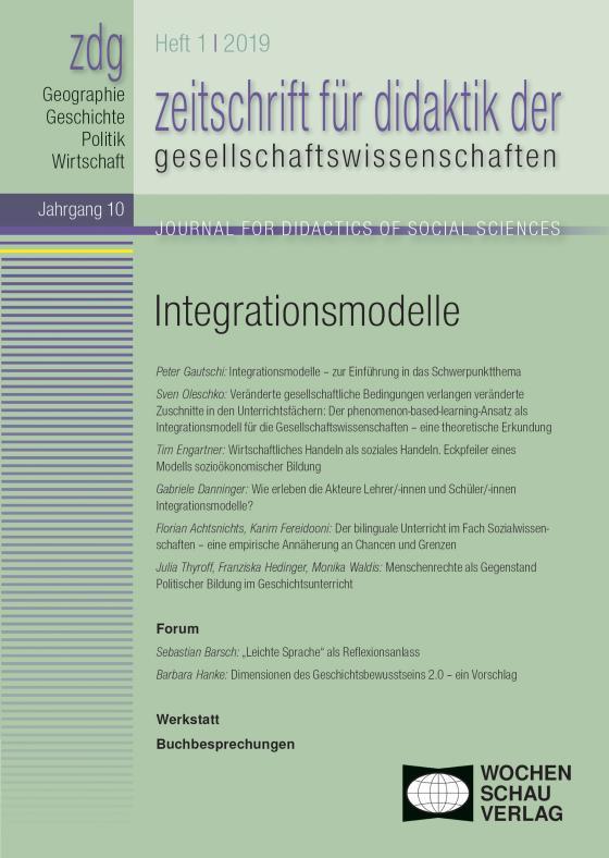 Cover-Bild Integrationsmodelle