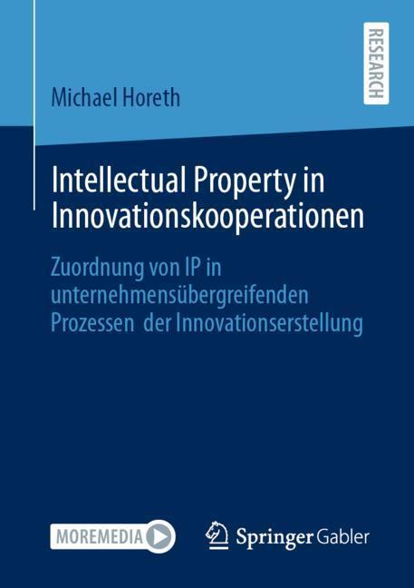 Cover-Bild Intellectual Property in Innovationskooperationen