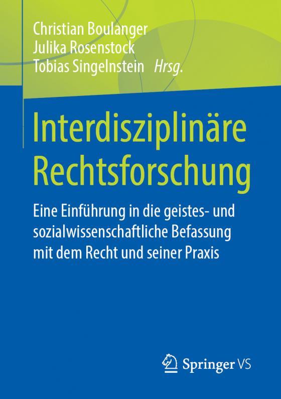 Cover-Bild Interdisziplinäre Rechtsforschung