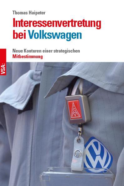 Cover-Bild Interessenvertretung bei Volkswagen